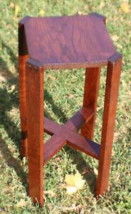 Antique Mission Oak Wood Side Table End Table Stickley Roycroft Era c.1915