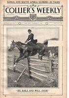 1899 Colliers November 25 - Steeplechase; Samoa; Revolution in Venezuela; Boers