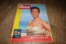 Quick 50/1957 TB Romy Schneider,Nick Knatterton Manfred Schmidt