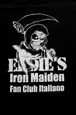 IRON MAIDEN official ITALIAN Fan Club EDDIE'S  t-shirt  Heavy Metal official M