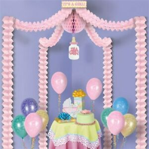 Baby Shower Canopy It's a Girl Covers approximately 20'x20'