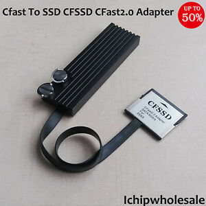 Cfast To SSD CFast2.0 Adapter CFast2.0 To SSD M.2 SATA Bus Memory Card For ESXS