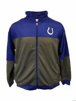 Indianapolis Colts NFL Navy Blue Full Zip Track Jacket Size BIG and Tall nwt