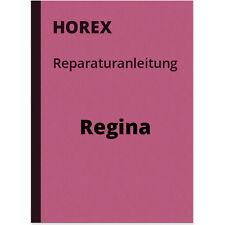 Horex Regina 1 2 3 4 Sport Reparaturanleitung Werkstatthandbuch Repair Manual