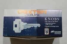 Schlage J-Series Dexter Corona Knob Bed Bath Lock Satin Stainless Privacy