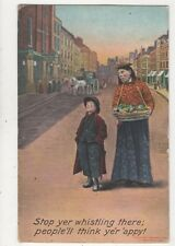 Stop Yer Whistling There [Bamforth 1397] 1909 Postcard 834a