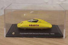 METRO hachette 1/43 fiat abarth 500 RECORD PININ FARINA - 1958