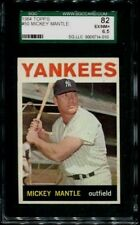 1964 TOPPS #50 MICKEY MANTLE SGC 6.5 EX-MT+ 82 NEW YORK YANKEES HOF HE HIGH END