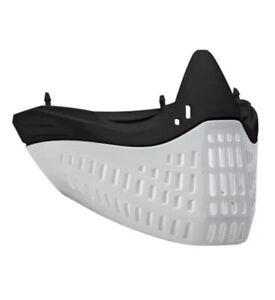 NEW Empire Flex Face E-Flex Paintball Mask Skirt Bottom - Black/white