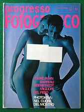 PROGRESSO FOTOGRAFICO n.11 Novembre 1972 (ITA) TOURDJMAN BARREAU EISENSTAEDT