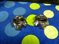 2005 - 2009 Kia Sportage -- Wheel Center Caps -- 1 Pair --Chrome