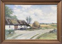 Impressionist Theresia Sandström (1893-1981) Landidylle in Sweden -