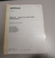 Caterpillar Cat D5M PS D5M FTC Tractors Parts Catalog Manual 1996 6GN1 3CR1