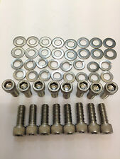 ROVER V8 EXHAUST MANIFOLD CAPHEAD STAINLESS BOLTS Land Rover Rover Hot Rod & TVR