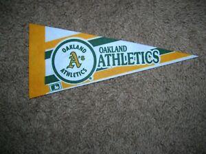 Oakland Athletics 1980's mini pennant
