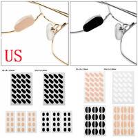 12 Pairs Eyeglass Sunglasses Glasses Foam Nose Pads Self-Adhesive Anti-slip Tape