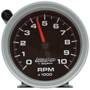 Auto Meter 233908 3-3/4 Inch Tachometer Gauge, 10k RPM, Blk Dial