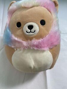 "BNWT Squishmallows 18cm / 7"" Leonard The Lion Kelly Toy"