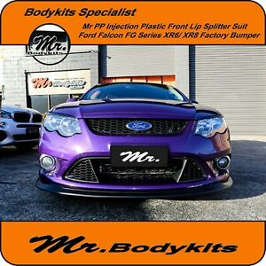 Mr. Front Lip Splitter For Ford Falcon XR6/ XR8 FG MK 1 Front Bumper, Body kits