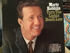 MARTY ROBBINS TURN THE LIGHTS DOWN LOW LP COLUMBIA 2304 1965