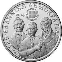 Griechenland 5 Euro Münze 2014 Freundesgesellschaft Filiki Eteria CoinCard