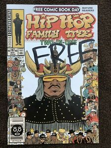 Hip Hop Family Tree Two-in-One (FCBD Edition, Fantagraphics, 2014) Ed Piskor