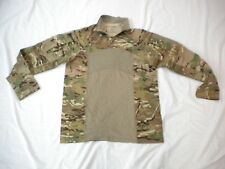 US ARMY MULTICAM ARMY COMBAT SHIRT TYPE II 1/4 ZIPPERED COMBAT SHIRT SZ SMALL