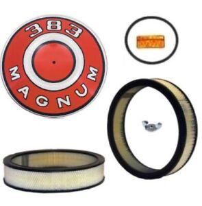 MoPar Air Cleaner Detail Set for 1967-1969 A-Body 383/440