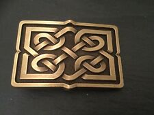 CELTIC PUZZLE New BELT BUCKLE Bronze Colour Metal Scottish Irish Design