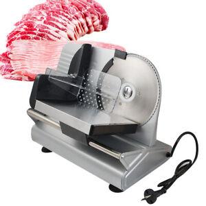 "FDA Premium Electric Meat Slice 7.5"" Blade Home Kitchen Deli Meat Food Slice"