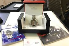 Mens Swiss Tissot Chronograph Watch Steel T067417 PRS200