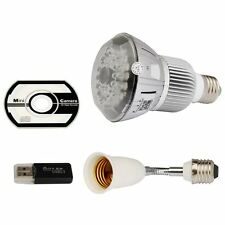 Full HD 1080P Hidden DVR WIFI IP Camera E27 LED Light Bulb Motion Detection CCTV
