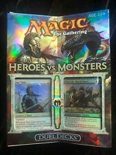 MTG Heroes vs. Monsters Duel Deck (ENGLISH) Factory Sealed