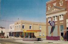 Downtown Park 'n Shop LITTLEFIELD TEXAS Vintage TX Chrome Postcard