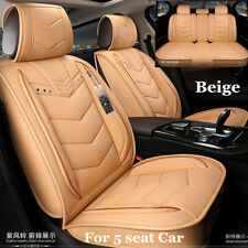 Universal Car Seat Covers Front&Rear Seat Back Headrest Protect Accessories