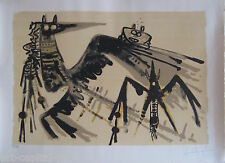 LAM WIFREDO WILFREDO LITHOGRAPHIE SIGNÉE AU CRAYON NUM/300 HANDSIGNED LITHOGRAPH