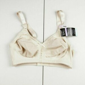 Bali Soft Taupe Cool Comfort Classic Support Bra Womens Sz 34D NWT