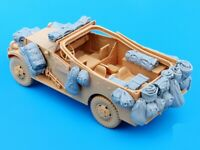 1/35 Resin US M3A1 Scout Car Stowage & Accessories Unpainted QJ078