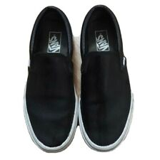 Vans Size 8 Women 6.5 Men Black Low Top Sneakers