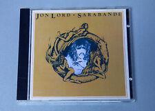 Jon Lord Sarabande CD 1987