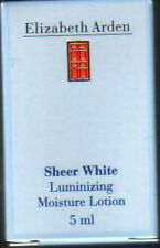 ELIZABETH ARDEN SHEER WHITE LUMINIZING LOTION SAMPLES 6 x 5ml - 30ml BNIB