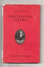 BEETHOVEN INTIMO Alfredo Casella Sansoni 1949