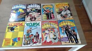 ECLIPSE MONTHLY - 8.5+ - 8 of 10 - Steve Ditko Marshall Rogers - 1983 - antholog