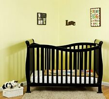 NEW & SEALED! Dream On Me Violet 7 in 1 Convertible Life Style Crib, (Black)