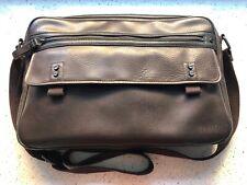 Genuine Ted Baker Brown Leather Messenger Shoulder Bag - Man Bag