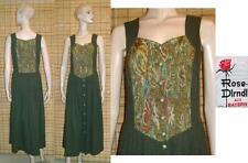 Lange ärmellose Damen-Trachtenkleider & -Dirndl aus Polyester