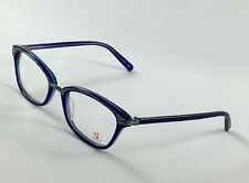 New SI HELIUM SI 1012 Blue Women's Eyeglasses Frames 52-18-135