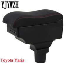 Armrest Center Console Storage Box For Toyota Yaris Vitz 2006-2011 Hatchback