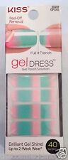 Kiss Nail Gel Dress Gel Polish Solution Gel Strips # 60459 Starry Night VHTF