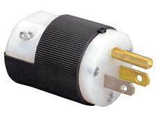 Hubbell HBL5266C 15A 125V 2P3W Grounding Straight Blade Insulgrip NEMA 5-15 Plug